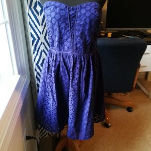Strapless urban outfitters dress
